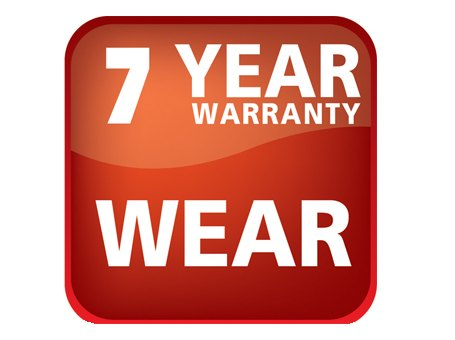 7 year warranty wear