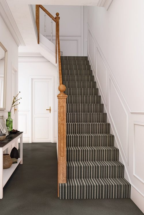 Fairfield Hallway and Stairs