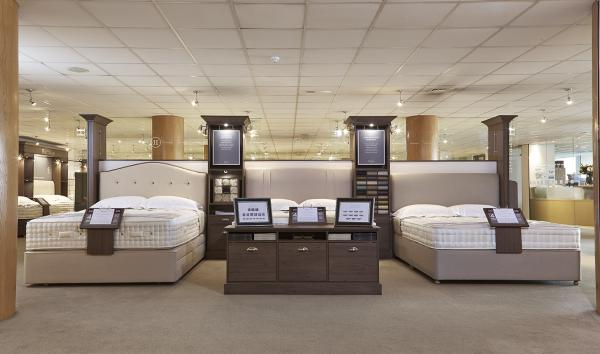Harrisons Beds Showroom